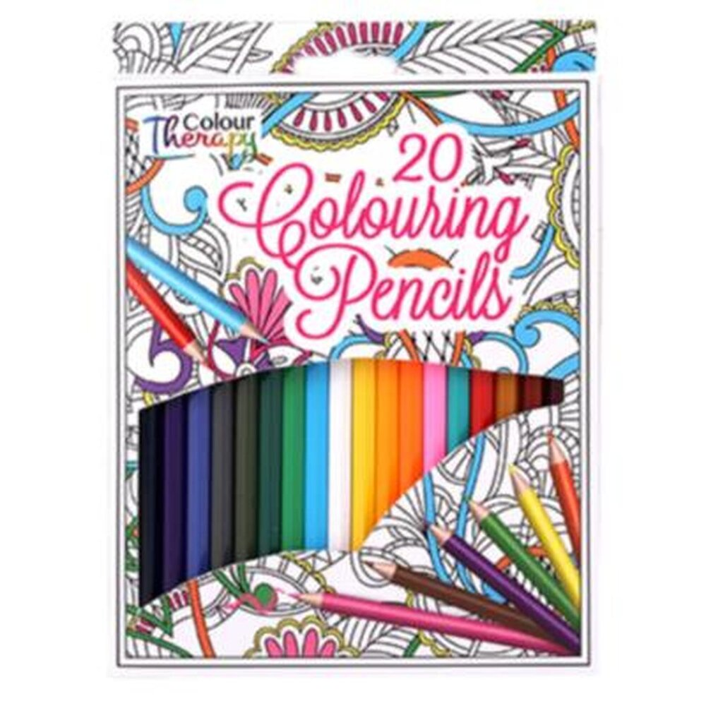 Colouring Book with Colouring Pencils