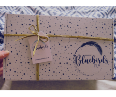Where Bluebirds Fly Wrapped Care Package, Gift Box with stars, Image 2