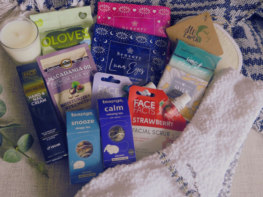 Large pamper package- send a care package.