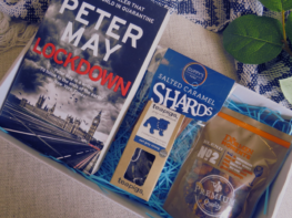 Book and Cosy Treats Care Package- Lockdown Book